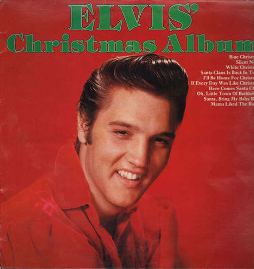 Cover Elvis Presley - Elvis' Christmas Album (LP, RE) Schallplatten Ankauf
