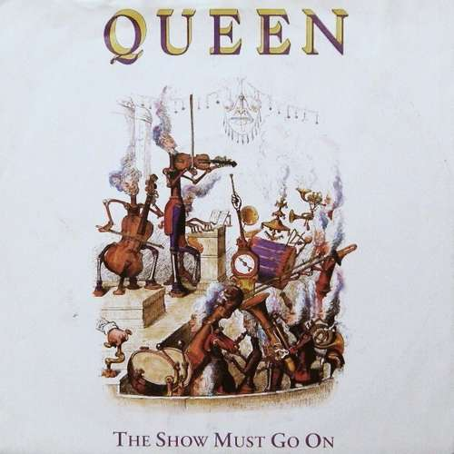 Cover Queen - The Show Must Go On (7, Single) Schallplatten Ankauf