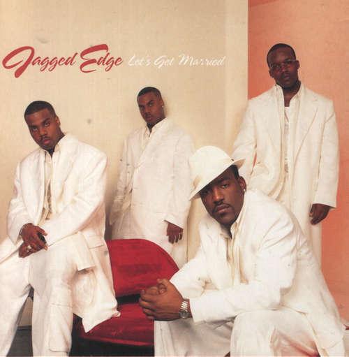 Cover Jagged Edge (2) - Let's Get Married (12) Schallplatten Ankauf