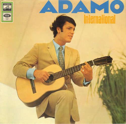 Cover zu Adamo - International (LP, Comp) Schallplatten Ankauf