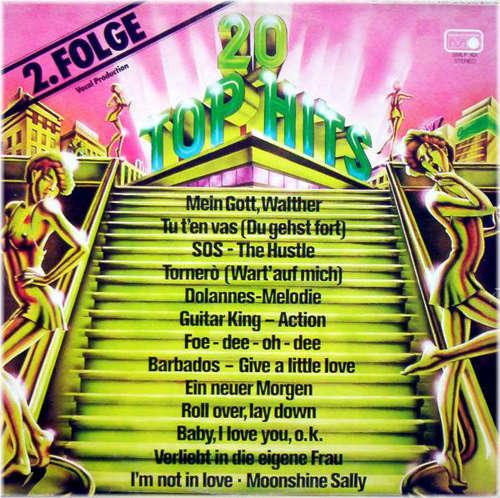 Cover zu Unknown Artist - 20 Top Hits - 2.Folge (LP, Album) Schallplatten Ankauf