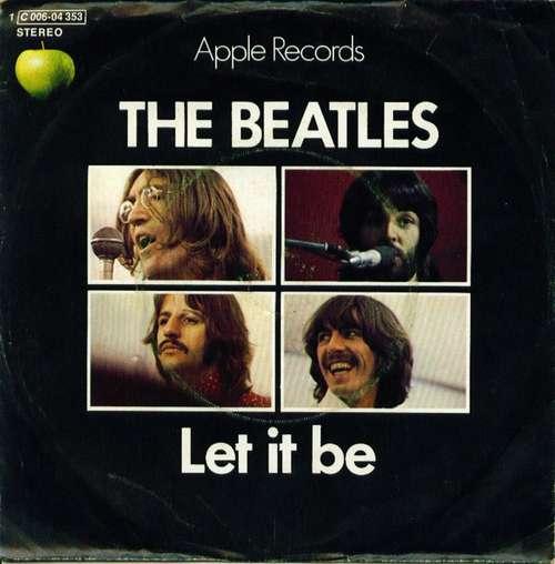 Cover The Beatles - Let It Be (7, Single) Schallplatten Ankauf