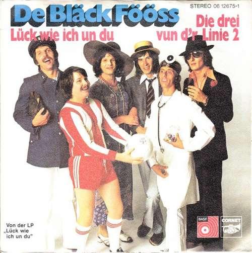 Bild De Bläck Fööss* - Lück Wie Ich Un Du / Die Drei Vun D´r Linie 2 (7, Single) Schallplatten Ankauf