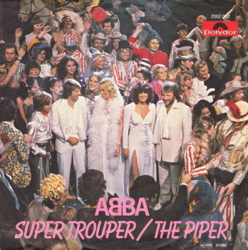 Bild ABBA - Super Trouper / The Piper (7, Single) Schallplatten Ankauf