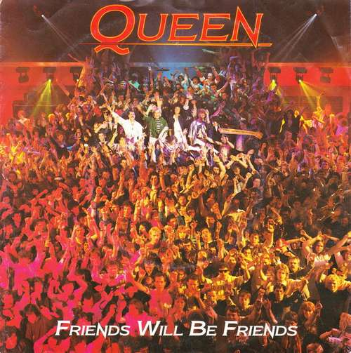 Cover Queen - Friends Will Be Friends (7, Single) Schallplatten Ankauf