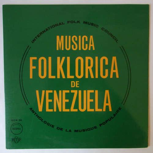 Cover Various - Musica Folklorica De Venezuela (LP, Mono) Schallplatten Ankauf