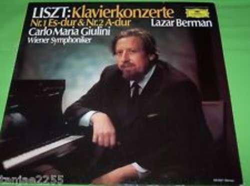 Bild Liszt* - Lazar Berman / Wiener Symphoniker / Carlo Maria Giulini - Klavierkonzerte Nr.1 Es-dur & Nr.2 A-dur (LP) Schallplatten Ankauf
