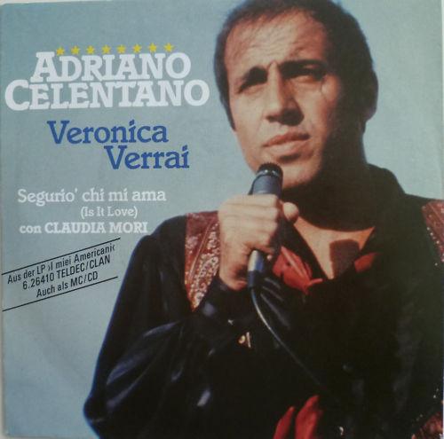 Bild Adriano Celentano - Veronica Verrai (7) Schallplatten Ankauf