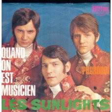 Cover Les Sunlights - Quand On Est Musicien (Camp) (7, Single) Schallplatten Ankauf