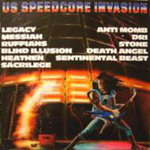 Cover Various - US Speedcore Invasion (LP, Comp) Schallplatten Ankauf