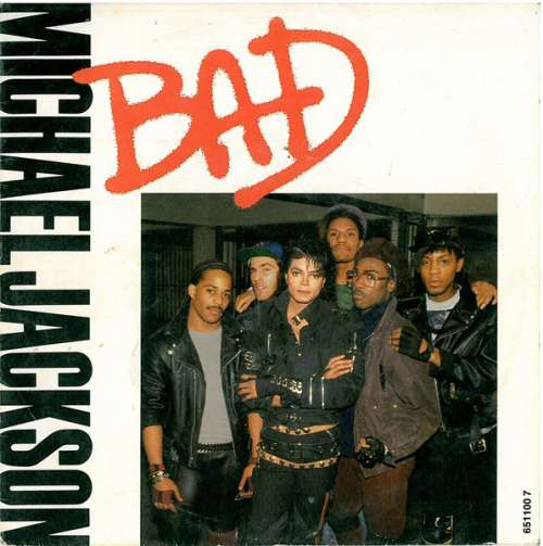 Cover Michael Jackson - Bad (7, Single) Schallplatten Ankauf