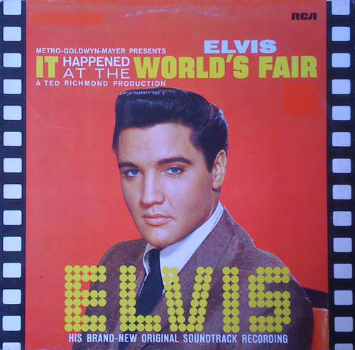 Cover Elvis Presley - It Happened At The World's Fair (LP, Album, RE) Schallplatten Ankauf
