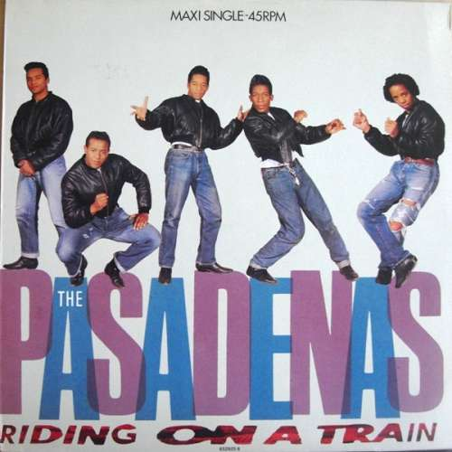 Cover The Pasadenas - Riding On A Train (12, Maxi) Schallplatten Ankauf