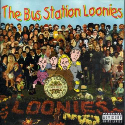 Cover Bus Station Loonies, The - Mad Frank's Zonal Disco (LP, Album) Schallplatten Ankauf