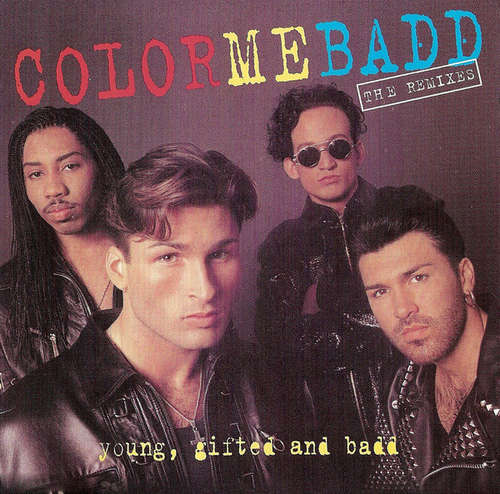 Cover Color Me Badd - Young, Gifted And Badd - The Remixes (CD, Album) Schallplatten Ankauf