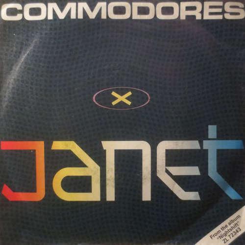Cover zu Commodores - Janet (7, Single) Schallplatten Ankauf