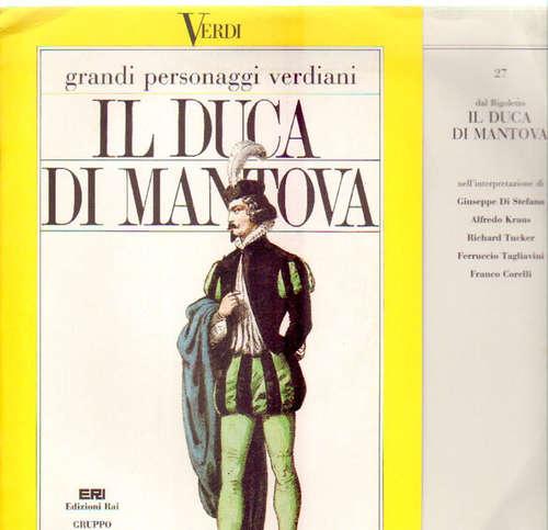 Cover Giuseppe Verdi - Verdi: Edizioni Rai 27 - Dal Rigoletto Il Duca Di Montova (LP) Schallplatten Ankauf