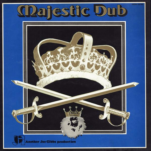 Cover Joe Gibbs & The Professionals - Majestic Dub (LP, Album, Red) Schallplatten Ankauf