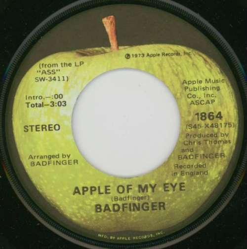 Bild Badfinger - Apple Of My Eye (7, Single, Los) Schallplatten Ankauf
