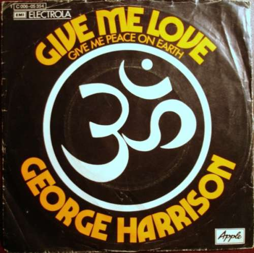 Bild George Harrison - Give Me Love (Give Me Peace On Earth) (7, Single) Schallplatten Ankauf
