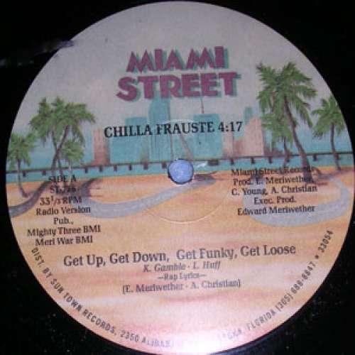 Cover Chilla Frauste - Get Up, Get Down, Get Funky, Get Loose (12) Schallplatten Ankauf