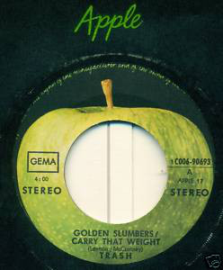 Bild Trash (9) - Golden Slumbers / Carry That Weight (7) Schallplatten Ankauf
