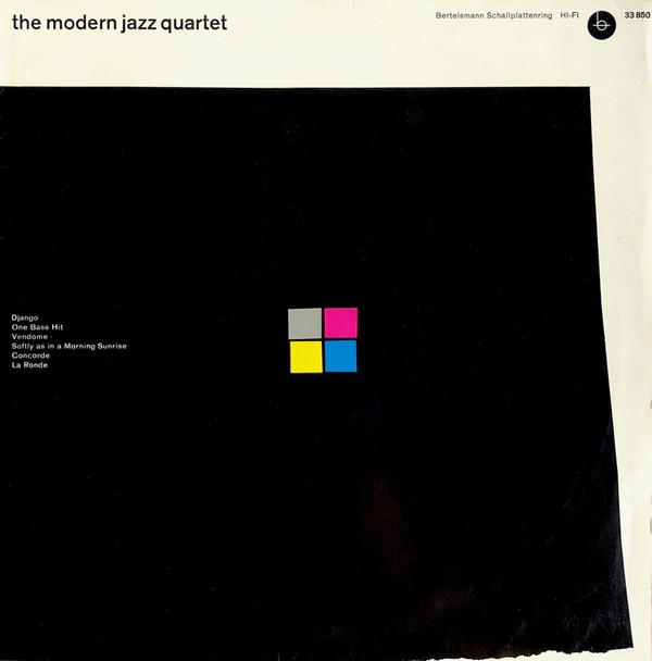 Cover The Modern Jazz Quartet - The Modern Jazz Quartet (10, Comp, Mono) Schallplatten Ankauf