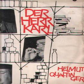 Cover Helmut Qualtinger - Der Herr Karl (LP, Album, Club, RP) Schallplatten Ankauf