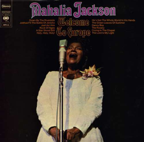 Cover Mahalia Jackson - Welcome To Europe (LP, Album) Schallplatten Ankauf