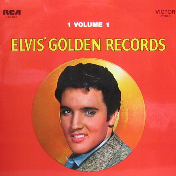Cover Elvis Presley - Elvis' Golden Records Volume 1 (LP, Comp, RE) Schallplatten Ankauf