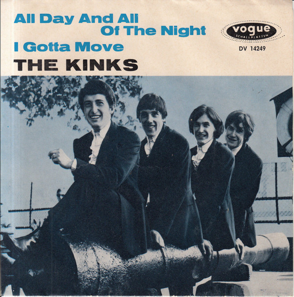 Cover zu The Kinks - All Day And All Of The Night / I Gotta Move (7, Single) Schallplatten Ankauf
