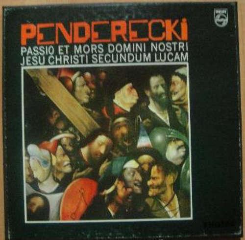 Bild Krzysztof Penderecki, Henryk Czyz* - Passio Et Mors Domini Nostri Jesu Christi Secundum Lucam (2xLP, Album, Box) Schallplatten Ankauf