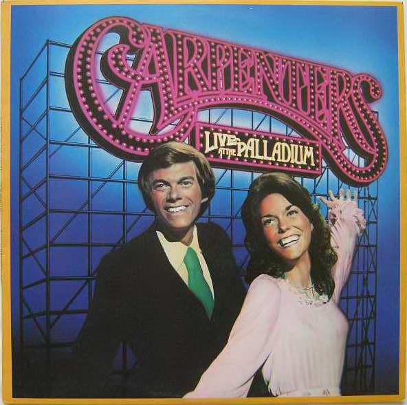 Cover Carpenters - Live At The Palladium (LP, Album, RE) Schallplatten Ankauf