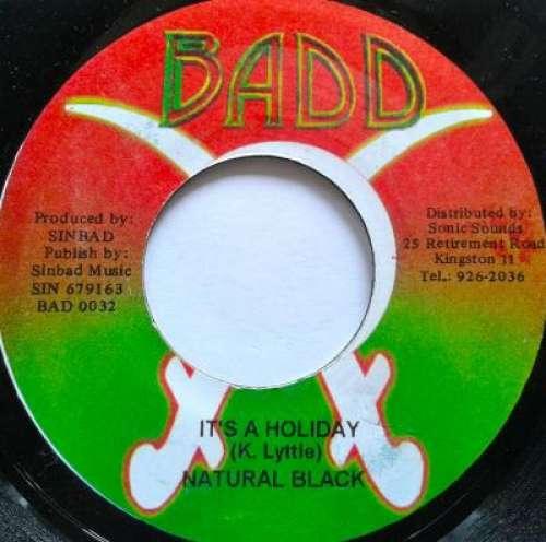 Bild Natural Black - It's A Holiday (7) Schallplatten Ankauf