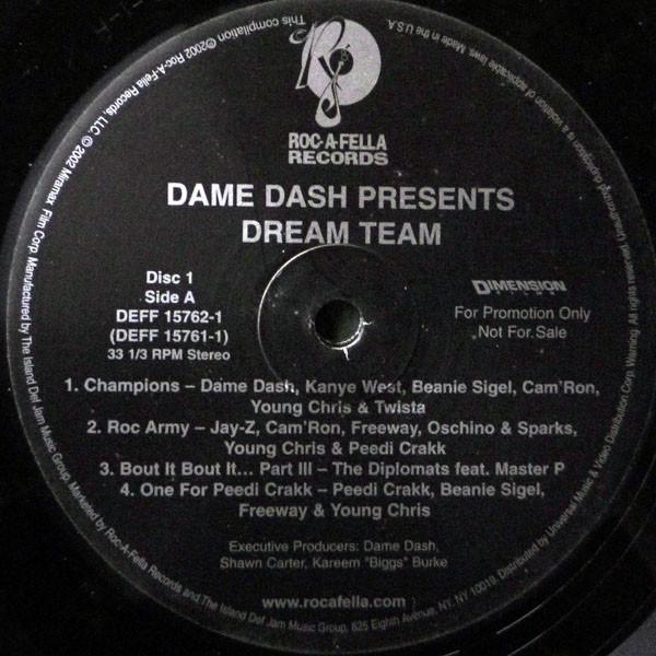 Cover Various - Dame Dash Presents Dream Team (2xLP, Comp, Promo, Cle) Schallplatten Ankauf