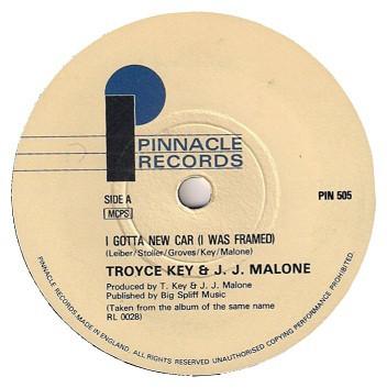 Bild Troyce Key & J.J. Malone - I Gotta New Car (I Was Framed) (7) Schallplatten Ankauf