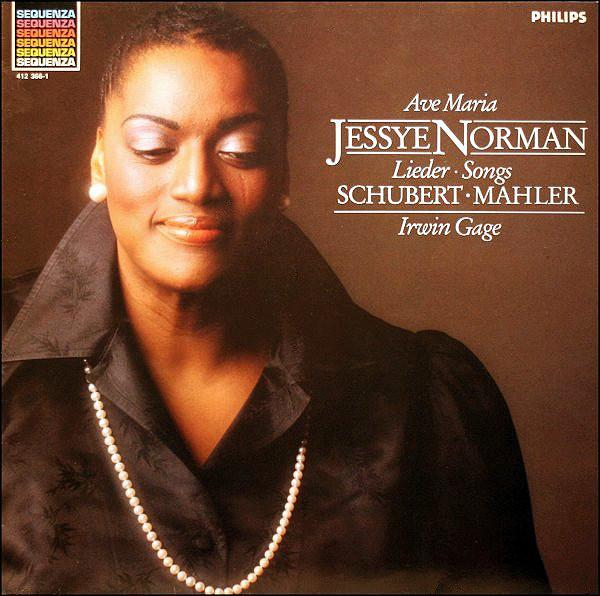 Bild Schubert* • Mahler* / Jessye Norman • Irwin Gage - Lieder • Songs (LP, Album, RE) Schallplatten Ankauf
