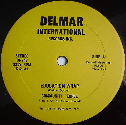 Cover Community People - Education Wrap (12) Schallplatten Ankauf