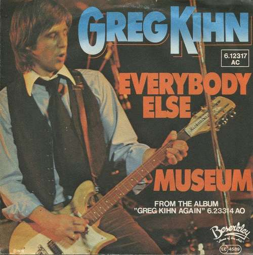 Cover Greg Kihn - Everybody Else / Museum (7, Single) Schallplatten Ankauf