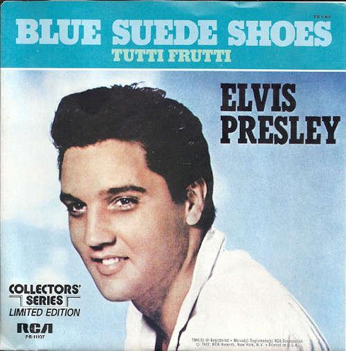Cover Elvis Presley - Blue Suede Shoes (7, Single, Mono, Ltd, RE) Schallplatten Ankauf