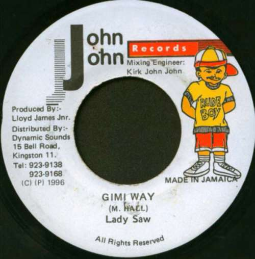 Bild Lady Saw - Gimi Way (7) Schallplatten Ankauf