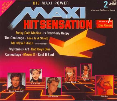 Cover Various - Maxi Hit Sensation - Die Maxi Power (2xLP, Comp) Schallplatten Ankauf
