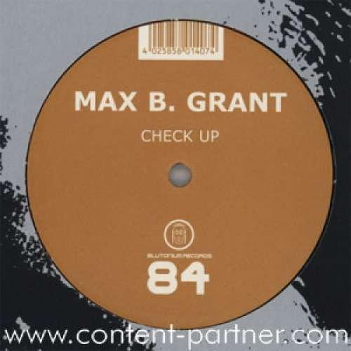 Bild Max B. Grant - Check Up (12) Schallplatten Ankauf