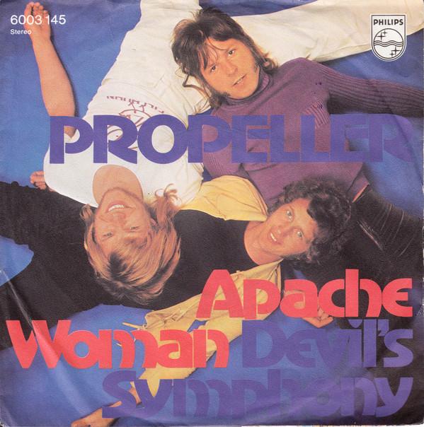 Cover Propeller (6) - Apache Woman (7, Single) Schallplatten Ankauf