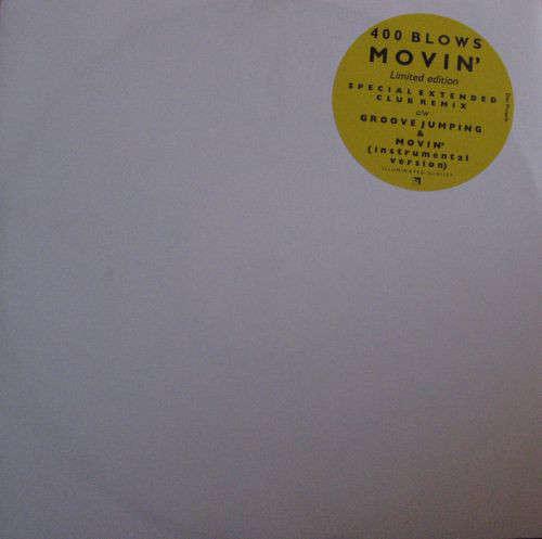 Cover 400 Blows - Movin' (12, Ltd) Schallplatten Ankauf