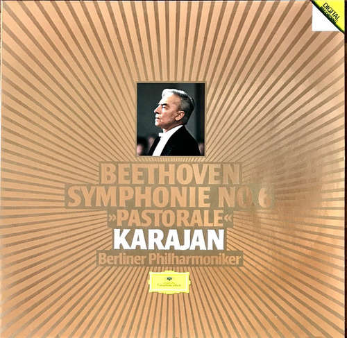 Cover zu Beethoven* / Karajan*, Berliner Philharmoniker - Symphonie No.6 »Pastorale« (LP, Album, Dig) Schallplatten Ankauf