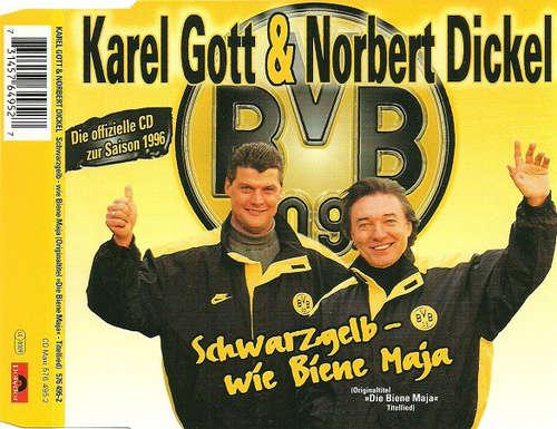Bild Karel Gott & Norbert Dickel - Schwarzgelb - Wie Biene Maja (CD, Single) Schallplatten Ankauf
