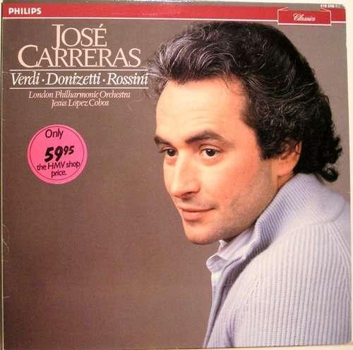Bild José Carreras - Verdi  Donizetti Rossini (LP, RE) Schallplatten Ankauf