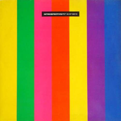Cover zu Pet Shop Boys - Introspective (LP, Album) Schallplatten Ankauf