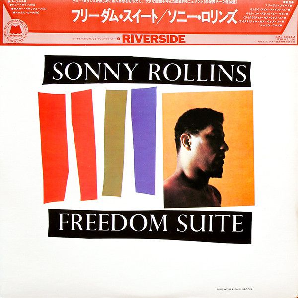 Cover Sonny Rollins - Freedom Suite (LP, Album, Mono, RE) Schallplatten Ankauf